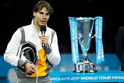 25.11.2010, Marriott Country Hall, London, ENG, ATP World Tour Finals, im Bild Nadal, Rafael (ESP), EXPA/ InsideFoto/ Semedia+++++ ATTENTION - FOR AUSTRIA/AUT, SLOVENIA/SLO, SERBIA/SRB an CROATIA/CRO CLIENT ONLY +++++