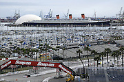 The 2003 Long Beach Grand Prix on 04/12/2003 through 04/13/2003 shot from the International Towers building. ©Paul Anthony Spinelli