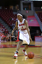 02 November 2008: Brea Banks during a game which the Illinois State Redbirds defeated Odyssey on Doug Collins Court inside Redbird Arena in Normal Illinois.