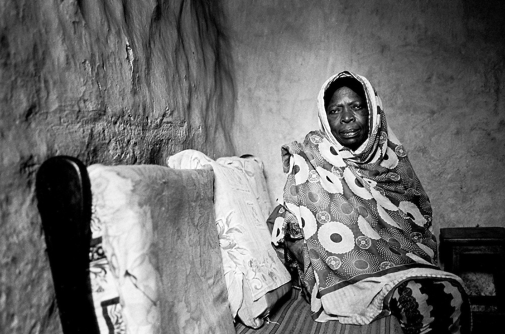 This 73-year-old is the last of 14 children in her family who has lived in Kibera for 115 years.