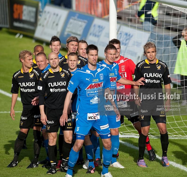 Henri Myntti. Honka - Tampere United. TamU. Veikkausliiga. Espoo 20.6.2010. Photo: Jussi Eskola