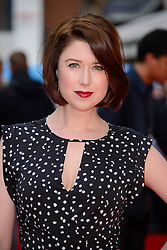 Image ©Licensed to i-Images Picture Agency. 12/08/2014. London, United Kingdom. <br /> Hayley Westenra attends the What If - UK film premiere. Leicester Square. Picture by Chris Joseph / i-Images