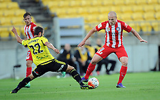 Wellington-Football, A- League, Phoenix v Melbourne FC