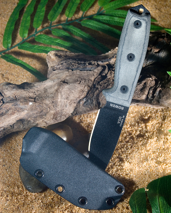 Custom kydex sheath for a RAT Cutlery 3 by Invictus Kydex..Pho-Tac.com Photos Invictus Kydex sheaths and holsters