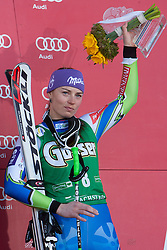 15-03-2012 SKIEN: FIS WORLD CUP 2012: SCHLADMING<br /> Third place Tina Maze of Slovenia<br /> **NETHERLANDS ONLY** <br /> ©2012-FotoHoogendoorn.nl/EXPA/Johann Groder