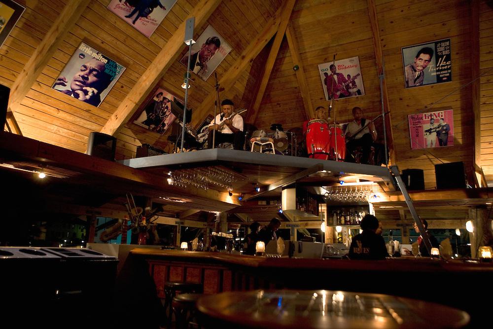 Blues club at Avila Hotel, Curacao