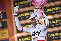 March 23, 2019 - Sanremo, Sanremo, Italia - Foto LaPresse/Marco Alpozzi.23/03/2018 Sanremo (Italia) .Sport Ciclismo.Milano-Sanremo 2019 - edizione 110 - da Milano a Sanremo (291 km) .Nella foto:¬† Michal Kwiatkowski (Team Sky)..Photo LaPresse/Marco Alpozzi.March 23, 2018 Sanremo (Italy).Sport Cycling.Tirreno-Adriatico 2019 - edition 110 - Milano to Sanremo (182 miles) .In the pic:¬† Michal Kwiatkowski  (Credit Image: © Marco Alpozzi/Lapresse via ZUMA Press)
