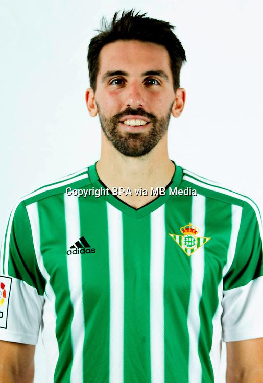 Spain - Liga BBVA 2015-2016 / <br /> ( Real Betis Balompie ) - <br /> Jordi Figueras Montel