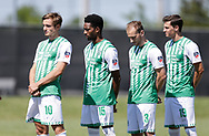 May 13, 2017: OKC Energy FC U23 plays FC Cleburne in a USL PDL game at Tom Thompson Field on the campus of the University of Central Oklahoma in Edmond, Oklahoma.