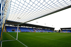 A general view of Greenhous Meadow the stadium to Shrewsbury Town - Mandatory by-line: Dougie Allward/JMP - 17/10/2017 - FOOTBALL - Greenhous Meadow - Shrewsbury, England - Shrewsbury Town v Bristol Rovers - Sky Bet League One