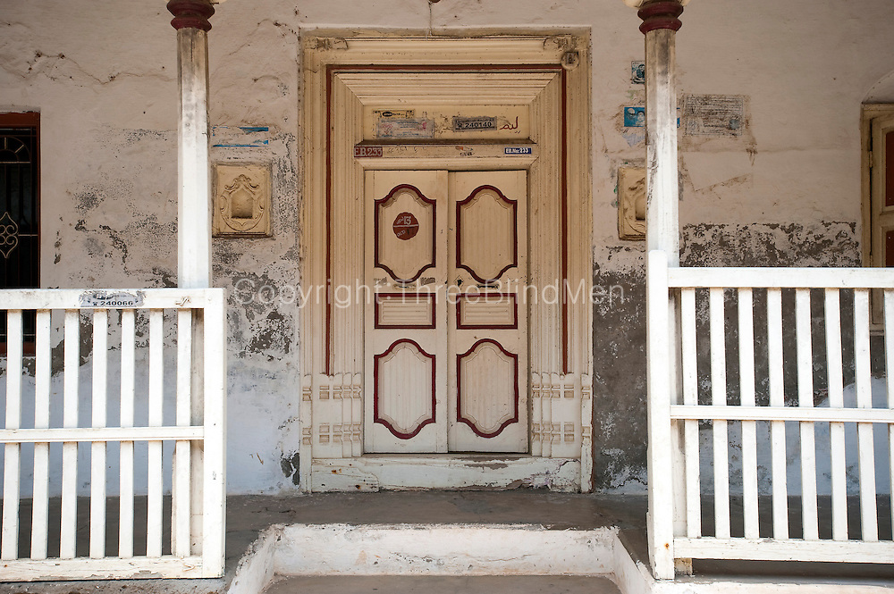 House front. Nagapattinam.