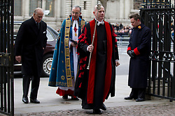 © Licensed to London News Pictures. 11/03/2013. London, UK. Prince Philip, the Duke of Edinburgh, is seen arriving at Westminster Abbey for a Commonwealth Day Celebration in London today (11/03/2013). Photo credit: Matt Cetti-Roberts/LNP