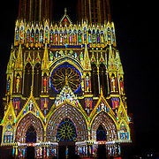 Originally set in 2011 for the Cathedral's 800 year anniversary, the Festival of colors installation played for Christmas and New Years crowds this year - an amazing feat done using some serious high-powered projectors on a building that has more intricate details that take would take a few hours pouring over to discover. Also gives you an idea of just how magnificent this would look when it was originally completed - and pilgrims approached this building as it was in color.