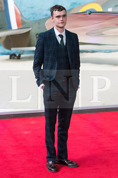 © Licensed to London News Pictures. 13/07/2017. London, UK. BRIAN VERNAL attends the Dunkirk World Film Premiere. Photo credit: Ray Tang/LNP