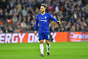 Eden Hazard (10) of Chelsea during the Carabao Cup Final match between Chelsea and Manchester City at Wembley Stadium, London, England on 24 February 2019.