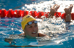 Lisbeth Trickett of Australia during the Women's 100m Freestyle Semi-Final during the 13th FINA World Championships Roma 2009, on July 30, 2009, at the Stadio del Nuoto,  in Foro Italico, Rome, Italy. (Photo by Vid Ponikvar / Sportida)
