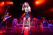 "Photos of Cassadee Pope performing live on the ""I'm Comin' Over"" Tour 2016 at PlayStation Theater, NYC on February 25, 2016. © Matthew Eisman/ Getty Images. All Rights Reserved"