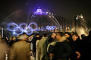 Torino 2006, Murazzi del PO festa  serale in occasione dei XX Giochi olimpici invernali