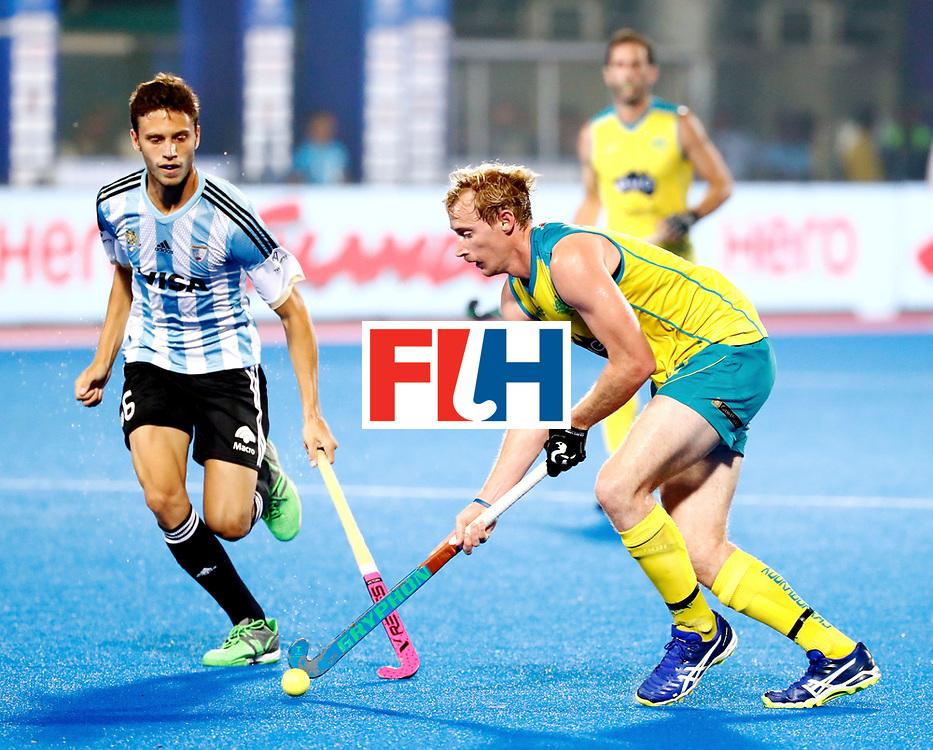 Odisha Men's Hockey World League Final Bhubaneswar 2017<br /> Match id:22<br /> Argentina v Australia<br /> Foto: <br /> WORLDSPORTPICS COPYRIGHT KOEN SUYK