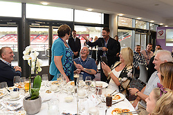 Ben Breeze surprises someone with Birthday celebrations - Mandatory byline: Dougie Allward/JMP - 07966386802 - 20/09/2015 - RUGBY - Ashton Gate -Bristol,England - Bristol Rugby v Nottingham Rugby - Greene King IPA Championship