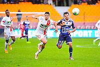 Johann RAMARE / Corentin JEAN - 10.01.2014 - Troyes / Brest - 19e journee Ligue 2<br /> Photo : Dave Winter / Icon Sport
