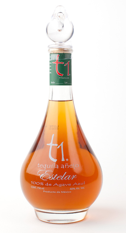 t1 Tequila Uno Estelar anejo -- Image originally appeared in the Tequila Matchmaker: http://tequilamatchmaker.com