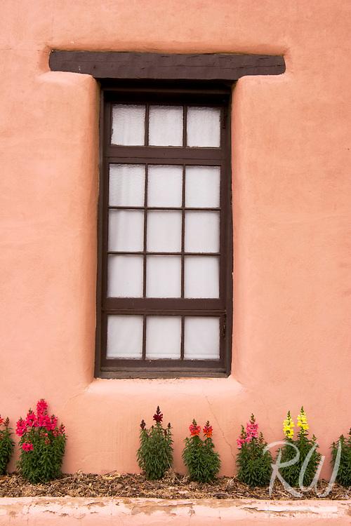 Southwestern Style Window Frame, Taos, New Mexico