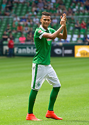 03.08.2014, Weserstadion, Bremen, GER, SV Werder Bremen, Tag der Fans, im Bild Davie Selke (SV Werder Bremen II #11) // during the supporters day of the german 1st Bundesliga Club SV Werder Bremen at the Weserstadion in Bremen, Germany on 2014/08/03. EXPA Pictures © 2014, PhotoCredit: EXPA/ Andreas Gumz<br /> <br /> *****ATTENTION - OUT of GER*****