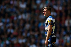 Bath Fly-Half George Ford looks frustrated - Photo mandatory by-line: Rogan Thomson/JMP - 07966 386802 - 30/05/2015 - SPORT - RUGBY UNION - London, England - Twickenham Stadium - Bath Rugby v Saracens - 2015 Aviva Premiership Final.