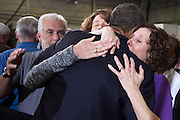 03.APRIL.2013. WASHINGTON D.C.<br /> <br /> PRESIDENT BARACK OBAMA HUGS SUE CONNORS AND JANE DOUGHERTY, RIGHT, FOLLOWING HIS REMARKS AT THE DENVER POLICE ACADEMY IN DENVER, COLO. , APRIL 3, 2013. THE WOMEN LOST THEIR SISTER, MARY SHERLACH, IN THE SANDY HOOK ELEMENTARY SCHOOL SHOOTINGS.<br /> <br /> BYLINE: EDBIMAGEARCHIVE.CO.UK<br /> <br /> *THIS IMAGE IS STRICTLY FOR UK NEWSPAPERS AND MAGAZINES ONLY*<br /> *FOR WORLD WIDE SALES AND WEB USE PLEASE CONTACT EDBIMAGEARCHIVE - 0208 954 5968*