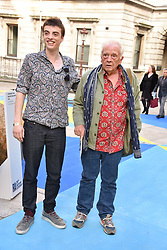 David Bailey and his son Sascha Bailey at the Royal Academy Of Arts Summer Exhibition Preview Party 2018 held at The Royal Academy, Burlington House, Piccadilly, London, England. 06 June 2018.