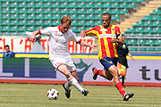 Foto di Donato Fasano - LaPresse.15  05  2011  Bari ( Italia ).Sport Calcio.AS Bari -  Us Lecce   TIM Serie A 2010  2011 - Stadio San Nicola Bari.Nella foto: giacomazzi gazzi.Photo Donato Fasano - LaPresse.15  05  2011 Bari ( Italy ).Sport Soccer.AS Bari  - Us Lecce Serie  A Soccer League 2010 2011- San Nicola Stadium Bari.In the Photo: giacomazzi gazzi