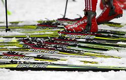 28.12.2011, DKB-Ski-ARENA, Oberhof, GER, Viessmann FIS Tour de Ski 2011, Training, im Bild Ski werden getestet . during of Viessmann FIS Tour de Ski 2011, in Oberhof, GERMANY, 2011/12/28. EXPA Pictures © 2011, PhotoCredit: EXPA/ nph/ Hessland..***** ATTENTION - OUT OF GER, CRO *****
