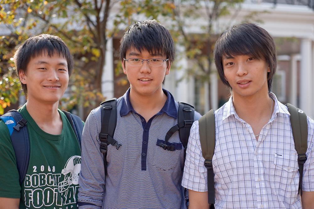 Campus Fall.... Gengkui, Chai Geyang,  Yau Juncheng