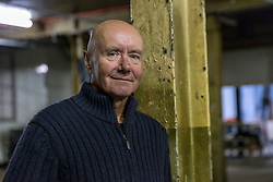 Trainspotting author, Irvine Welsh, launches his new book Dead Men's Trousers at the Biscuit Factory in Edinburgh