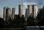 .A view of industrial sistem of VIBAC damaged on April 6, 2009 during a eartquake in Paganica, a small town some 10 kilometers from L'Aquila, epicentre of an earthquake which jolted central Italy early morning. A violent earthquake jolted central Italy killing at least 92 people and injuring 1,500 as buildings and homes in the walled medieval town of L'Aquila were reduced to rubble.© ALESSIO ROMENZI