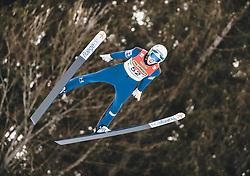 16.02.2020, Kulm, Bad Mitterndorf, AUT, FIS Ski Flug Weltcup, Kulm, Herren, im Bild Timi Zajc (SLO) // Timi Zajc of Slovenia during the men's FIS Ski Flying World Cup at the Kulm in Bad Mitterndorf, Austria on 2020/02/16. EXPA Pictures © 2020, PhotoCredit: EXPA/ JFK
