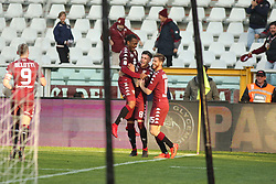 November 19, 2017 - Turin, Piedmont, Italy - Daniele Baselli (Torino FC) celebrates after scoring during the Serie A football match between Torino FC and AC Chievo Verona at Olympic Grande Torino Stadium on 19 November, 2017 in Turin, Italy. (Credit Image: © Massimiliano Ferraro/NurPhoto via ZUMA Press)