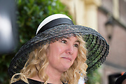 Prinsjesdag - Aankomst politici bij de Ridderzaal. Zoals ieder jaar ging Prinsjesdag ook dit keer weer gepaard met hoedjes in allerlei soorten en maten.<br /> <br /> Op de foto / On the photo: Melanie Schultz van Haegen