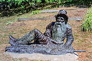 Rip Van Winkle Statue is located at the corner of Main Street and Ferris Street , sculpted by Richard Masloski, Irvington, NY