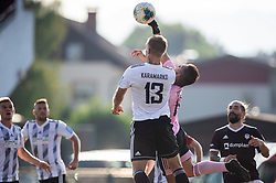Matko Obradovič of Mura and Karamarko Marin of Mura during football match between NK Triglav and NS Mura in 5th Round of Prva liga Telekom Slovenije 2019/20, on August 10, 2019 in Sports park, Kranj, Slovenia. Photo by Vid Ponikvar / Sportida