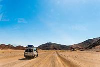 Driving through the Eastern Desert