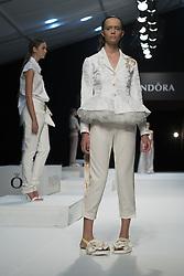 September 12, 2016 - Madrid, Madrid, Spain - Parade the Pandora in MFSHOW 2016 women held at the Museum of Costume in Madrid, on September 12, 2016. (Credit Image: © Oscar Gonzalez/NurPhoto via ZUMA Press)