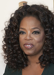 February 7, 2020, Santa Monica, CALIFORNIA, USA: Oprah Winfrey speaks on the backlash against Gayle King for bringing up Kobe Bryant's Rape Case during an interview with Lisa Leslie. FILE PHOTO: Oprah Winfrey at the 19th Critic's Choice Movie Awards at Barker Hangar in Santa Monica, California on Thursday January 16, 2014. JAVIER ROJAS/PI (Credit Image: © Prensa Internacional via ZUMA Wire)