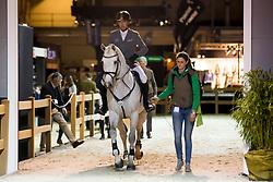 Weishaupt Philipp, (GER), LB Convall<br /> Indoor Brabant 2018<br /> © Sharon Vandeput<br /> 11/03/18