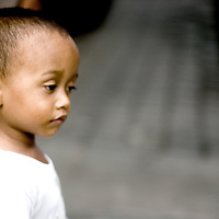 Young asian child