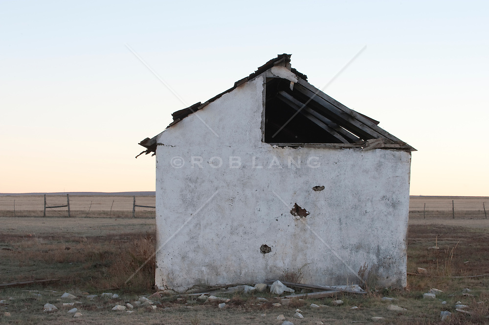 abandoned house in rural New Mexico