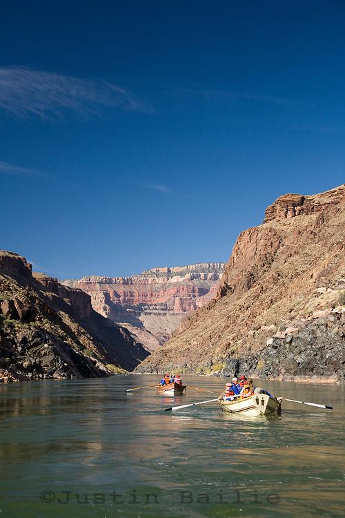 Rafting the Grand Canyon. Grand Canyon NP, AZ.