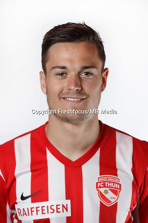22.06.2015; Thun; Fussball Super League - Portrait FC Thun: Ivan Markovic (Thun) (Christian Pfander/freshfocus)