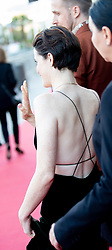 September 24, 2018 - San Sebastian, Spain - Claire Foy attend the 'First Man' Red Carpet during the 66th San Sebastian International Film Festival on September 24, 2018 in San Sebastian, Spain. (Credit Image: © Manuel Romano/NurPhoto/ZUMA Press)